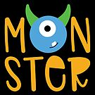 Halloween T-Shirts & Gifts: Monster by wantneedlove