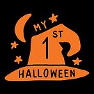 Halloween T-Shirts & Gifts: My 1st Halloween by wantneedlove