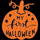 Halloween T-Shirts & Gifts: My First Halloween by wantneedlove