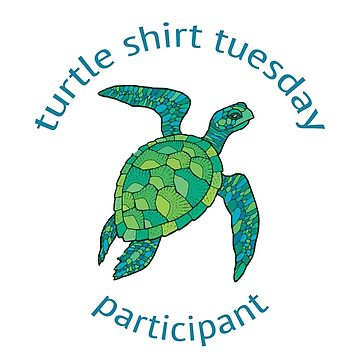 turtle shirt tuesday shirt by annaschaidler