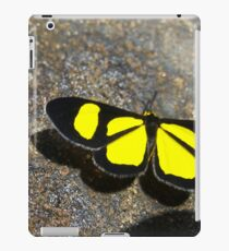 Yellow Butterfly iPad Case/Skin