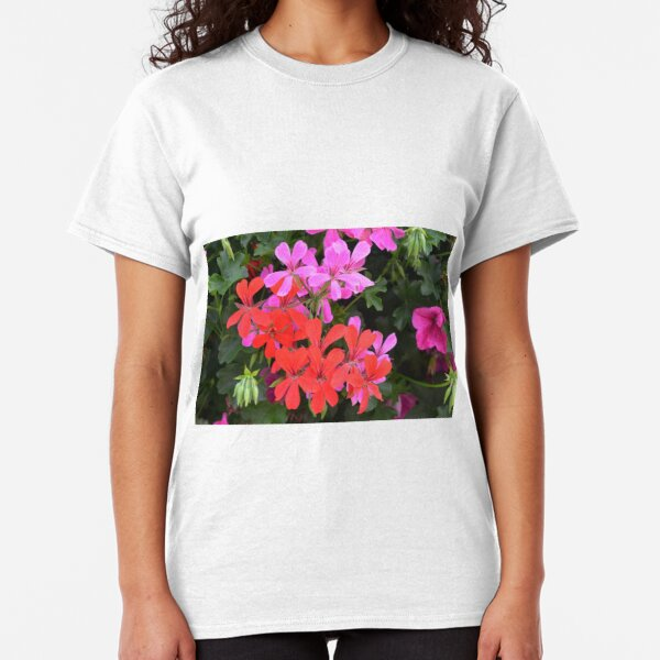 Real Beautiful Flowers outside Classic T-Shirt