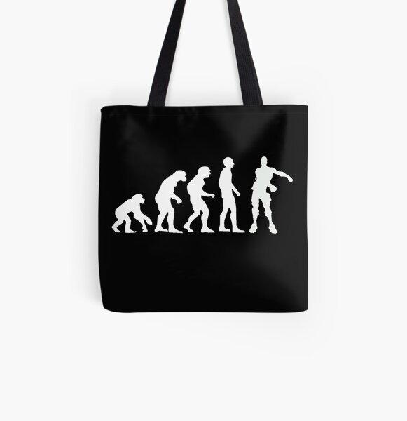 Evolution of Gamers   Floss Dance  All Over Print Tote Bag