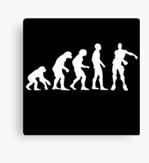 Lienzo Evolución de los gamers | Baile de seda