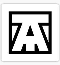 Team Avenue - White Sticker