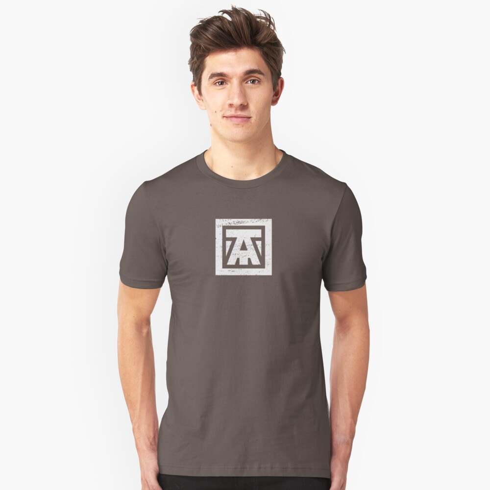 Team Avenue - Faded White Unisex T-Shirt Front