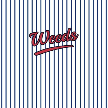 Weeds Typographic Design | Digital Art by CarlosV