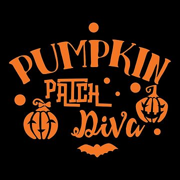 Halloween T-Shirts & Gifts: Pumpkin Patch Diva by wantneedlove