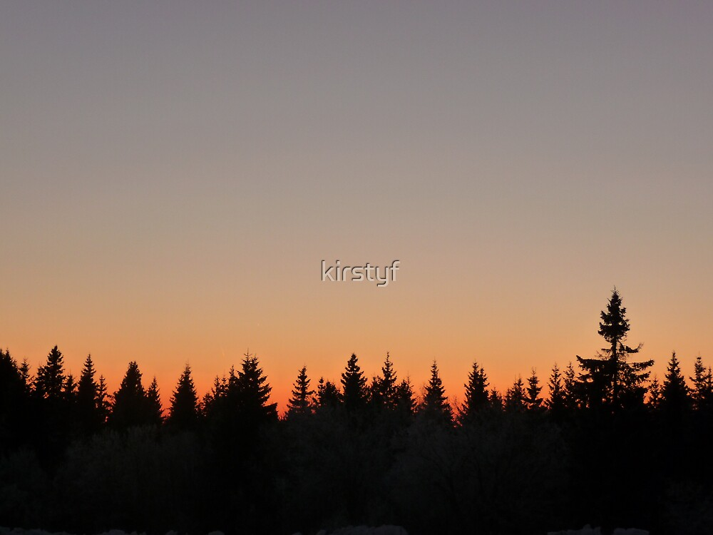 Sunset by kirstyf