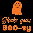 Halloween T-Shirts & Gifts: Shake your BOO-ty by wantneedlove