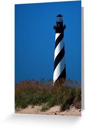 Cape Hatteras Lighthouse by Sandy Woolard