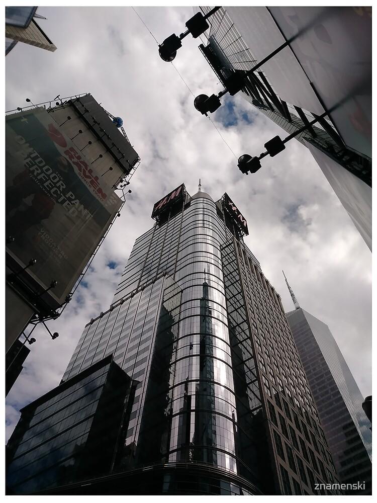 #Manhattan, #NewYork, #NewYorkCity, #buildings, #streets, #pedestrians, #people, #cars, #building, #architecture, #city, #skyscraper #sky, #urban, #glass, #downtown, #tower, #skyline, #tall by znamenski