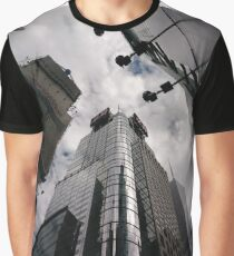 #Manhattan, #NewYork, #NewYorkCity, #buildings, #streets, #pedestrians, #people, #cars, #building, #architecture, #city, #skyscraper #sky, #urban, #glass, #downtown, #tower, #skyline, #tall Graphic T-Shirt