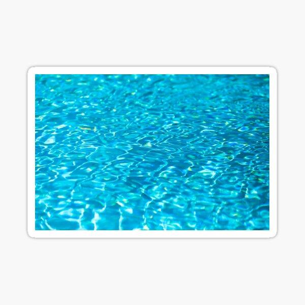 Swimming Pool Water Ripples Sticker