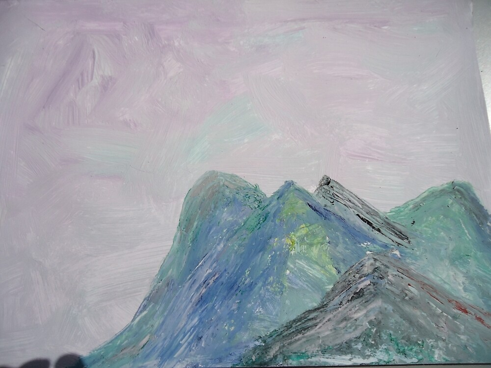 Mountain 1 by fladelita