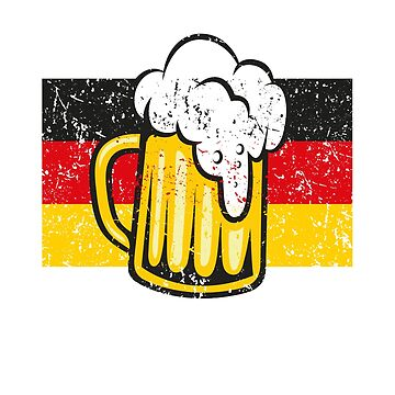 Funny Oktoberfest shirt German Flag Bier T-shirt Prost by worksaheart