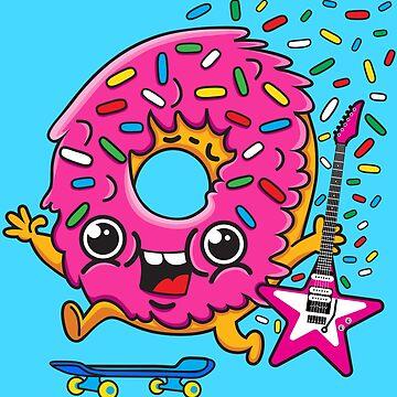 Skater Donut Rocks! by plushism