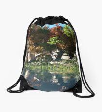 Autumnal Drawstring Bag
