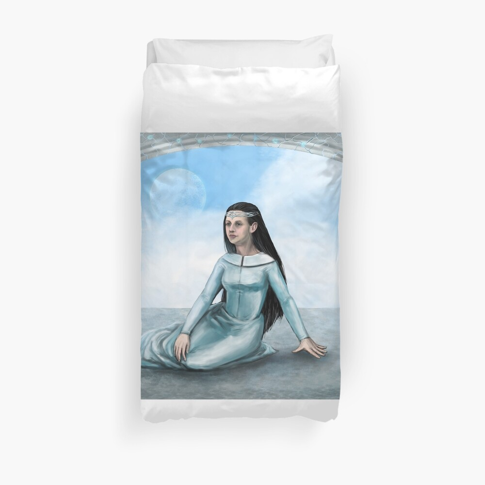 In another dimension Duvet Cover