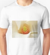 Center Of Magnolia Flower Unisex T-Shirt
