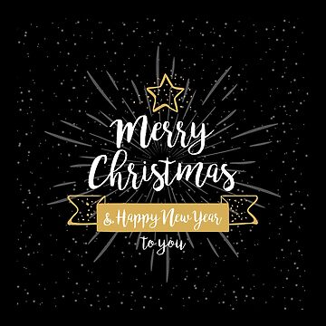 Merry Christmas And A Happy New Year Christmas Gift by overstyle