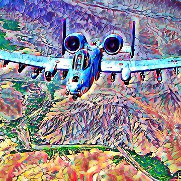 A10 Thunderbolt II aka Warthog by philosophizer