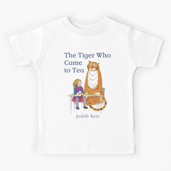 The Tiger Who came to Tea Kids T-Shirt
