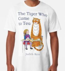 The Tiger Who came to Tea Long T-Shirt