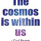 Der Kosmos ist in uns - Carl Sagan von catofnimes