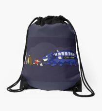 Doctor Totoro Drawstring Bag