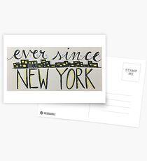 Ever Since New York Postcards