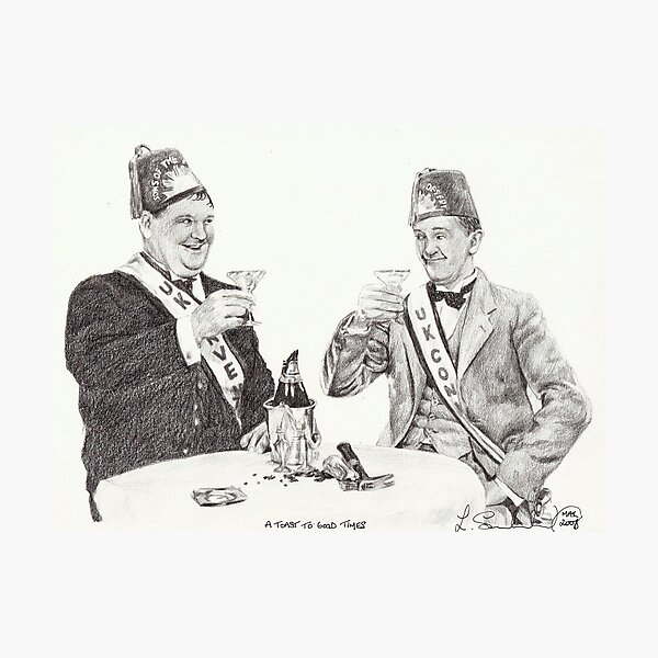 'A toast to good times' Photographic Print