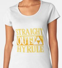 straght outta hyrule Women's Premium T-Shirt