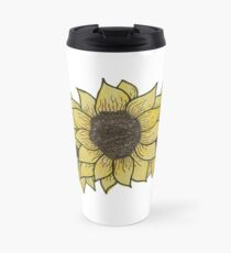 Three Sunflowers Travel Mug