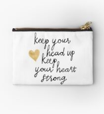 Keep Your Head Up Studio Pouch