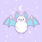 Cute Pastel Bat by nikury