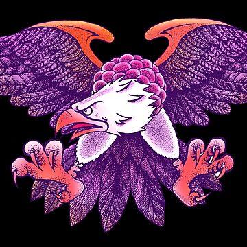 purple eagle by MUMtees