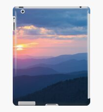 Sunset in the Great Smoky Mountains iPad Case/Skin