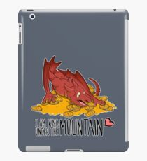Cute under the mountain iPad Case/Skin