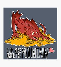 Cute under the mountain Photographic Print