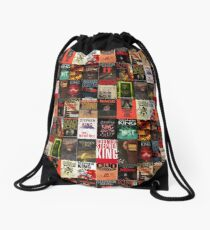 Stephen King - Book Covers Drawstring Bag