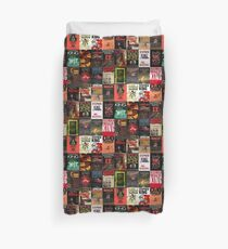 Stephen King - Book Covers Duvet Cover