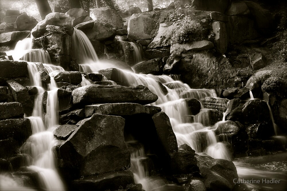 The cascades by Catherine Hadler