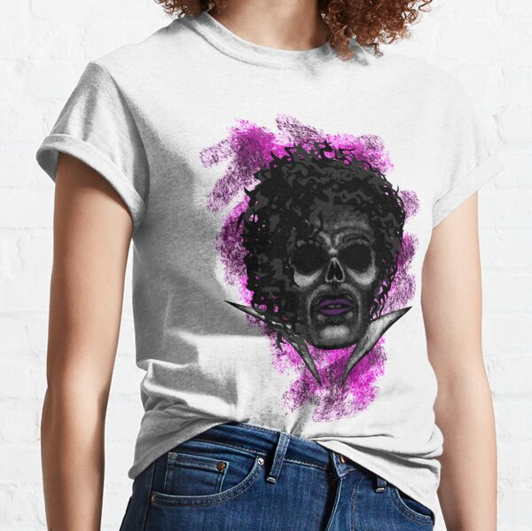 Errorface Skull Icons - Purple Man Classic T-Shirt