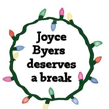 Stranger Things Joyce Byers Deserves A Break by NowTheWeather
