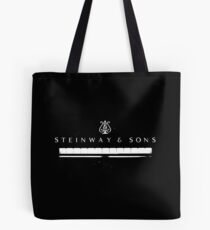 Steinway Grand Piano-Musician-Music-Keyboard Tote Bag