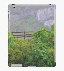 Fence Near Bridal Veil Falls iPad Case/Skin