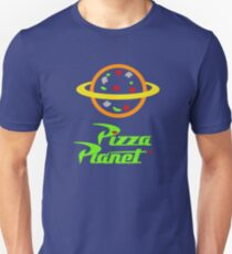 Pizza Planet - Toy Story Slim Fit T-Shirt