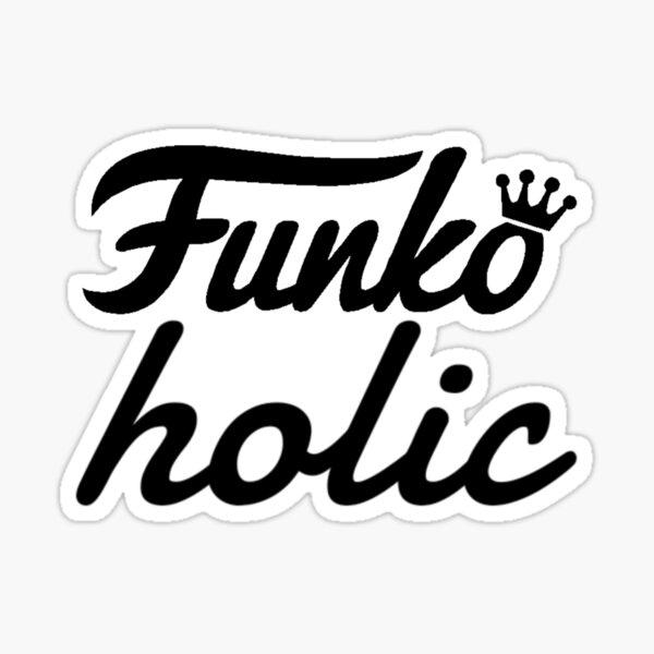 FunkoHolic funko pops Sticker