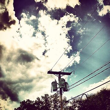 Clouds Dance Along the Lines by theforaner